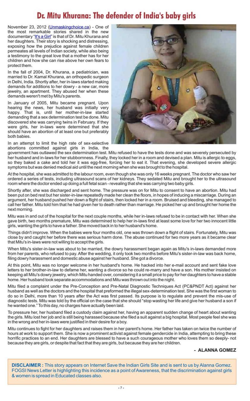 FOGSI newsletter PG 7